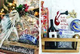holiday gift basket ideas for friends