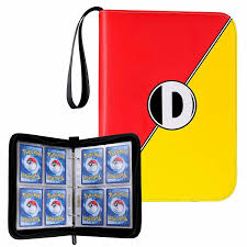 Pokemon Card Binder Large 3 Ring Album All Trading Game Collection Cards  Holder for sale online