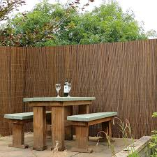 willow fence screening roll 6ft x 13ft