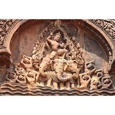 Peel N Stick Poster Of Angkor Wat Temple Cambodia Banteay Srei Poster 24x16 Adhesive Sticker Poster Print Walmart Com Walmart Com