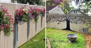 Backyard Fence Decorating Ideas Backyard Fence Decorating Ideas Design Ideas And Photos Fence Decor Backyard Fences Fence Design