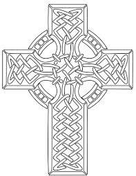 Keltisch Kruis Kleurplaat Gratis Kleurplaten Printen