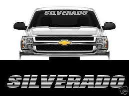 Malibu Vinyl Windshield Decal Sticker Se Eco Chevy Chevrolet Graphics Banner