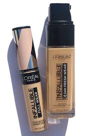 l oreal infallible foundation