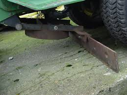 lawn and garden tractor attachments j