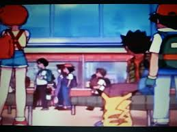 Ash used Double Team? (End of Pokemon the First Movie) : pokemon