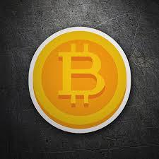 Sticker Bitcoin Symbol Muraldecal Com