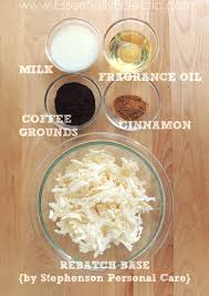 cinnamon hazelnut coffee soap