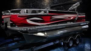 2020 Custom Pontoon Boat Wrap Design Greenback Wraps Com