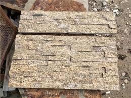 z shape tiger skin yellow granite stone