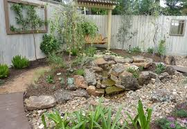 design and create a beautiful rock garden