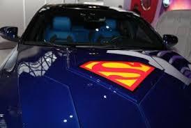 Superman Themed 2013 Kia Optima Hybrid Chicago Auto Show Autotrader