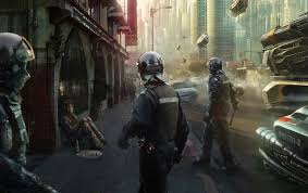 future police officers wallpapers