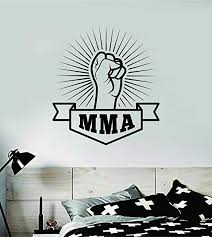 Amazon Com Boop Decals Mma Wall Decal Sticker Vinyl Art Bedroom Living Room Decor Decoration Teen Quote Inspirational Boy Girl Sports Jiu Jitsu Fight Karate Muay Thai Kickbox Box Judo Home Kitchen