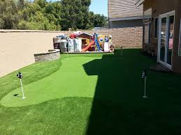 putting green installation ecograss