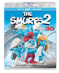 The Smurfs 2 Blu-ray 3D + Blu-ray 2-Disc Region Free | US Import ...
