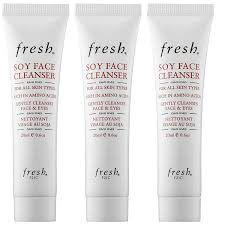 amazon com fresh soy face cleanser