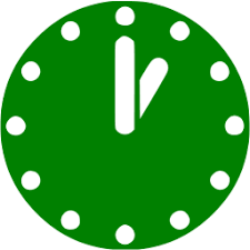 Green time 13 icon - Free green time icons