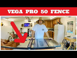 Vega Pro 50 Fence Installation How To Install An Aftermarket Table Saw Fence Youtube