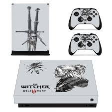 The Witcher 3 Wild Hunt Skin Sticker Decal For Xbox One X Console And Controllers Skins Stickers For Xbox One X Skin Vinyl Consoleskins Co