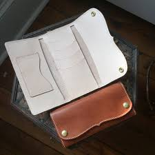 leather wallet template free mount