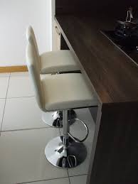 dishy leather bar stool interesting