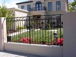 Pin By Tracy Torres On Miscellaneous Home Ideas Wrought Iron Fence Panels Iron Fence Steel Fence