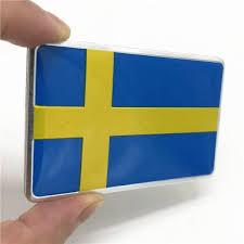 Aluminum Sweden Flag Car Styling Sticker Emblem Decal Badge For Se Cars Body Window Door For Volvo V70 Xc60 S60 V60 V40 Vw Golf Shop The Nation