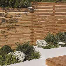 The Right Fencing Can Create A Feeling Of Light And Space Cue These Elegant Venetian Panels In 2020 Outdoor Diy Projects Outdoor Projects Fence Panels
