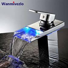 basin sink faucet waterfall sink taps