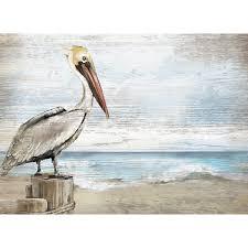 Pelican Wall Art At Bella Coastal Decor