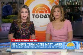 Matt Lauer fired: Savannah Guthrie ...