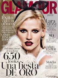 lara stone for glamour spain by alique