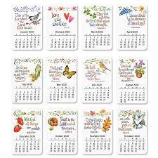 faith calendar magnets current catalog