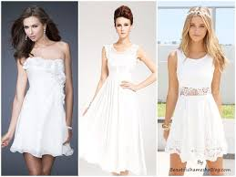 makeup ideas with white dress
