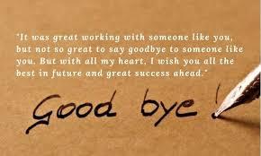 farewell message to colleagues ▷ yen com gh