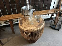 african drum side table antiques atlas