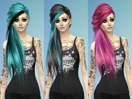 sims 4 hair emo