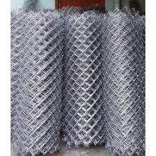 Hot Dip Galvanized Steel Gi Chain Link Fencing 5 Ft Rs 66 Kilogram Id 20347457997