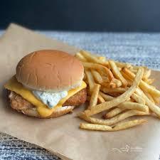 tartar sauce filet o fish sandwich