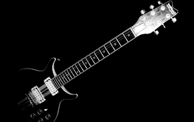 white electric guitar wallpapers