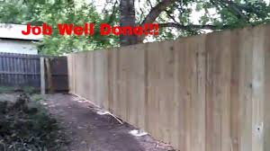 Diy Building A Wooden Fence Using Galvanized Fence Posts Part 1 Youtube