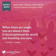 special true friend life long friend poem