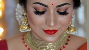 indian festival makeup tutorial