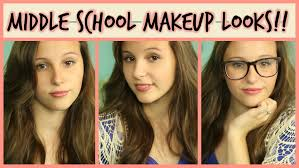 makeup for first day of middle