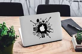 Music Decal For Macbook Pro Sticker Vinyl Laptop Mac Air Notebook Skin Dj Guitar Ebay