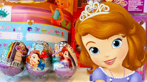 3 Huevos Sorpresa De La Princesa Sofia Y Invitaciones De