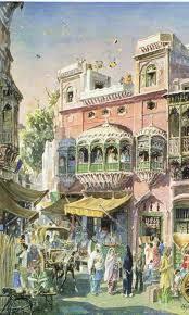gha-yal: Dr Ajaz Anwar's paintings of Old...