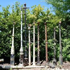 Selection Of Antique And Reclaimed Cast Iron Lamp Posts For Sale On Salvoweb From V V Reclamation In Her Iron Lamp Post Antiques For Sale Architectural Salvage