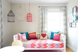 Hanging Decorative Birdcages In A Kids Room Young House Love